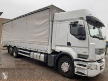 Lastbil med släp Renault Premium 460.26 S skjutbara ridåer (flexibla skjutbara sidoväggar) begagnad