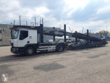 Renault D-Series trailer truck damaged car carrier
