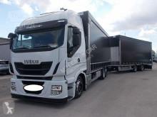 Camion remorque Iveco Stralis 260S46 AUTOTRENO BIGA GRAN VOLUME EURO 6 K