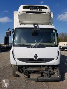 Lastbil med släp transportbil Renault Midlum 300.18 DXI