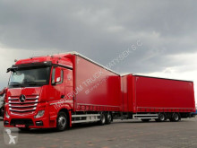 Camion remorque Mercedes ACTROS 2545 / JUMBO TRUCK 120 M3 /VEHICULAR/ACC rideaux coulissants (plsc) occasion