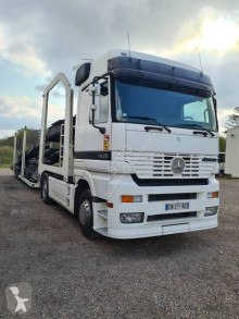 Mercedes car carrier trailer truck Actros 1835