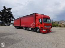 Vrachtwagen met aanhanger Schuifzeilen Renault Premium