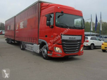 Camion remorque DAF XF XF 106 440 Space cab *Jumbo *ca. 110 Cubic* rideaux coulissants (plsc) occasion