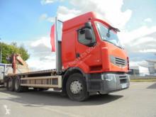 Lastbil med släp platta standard Renault Premium 460.26 DXI