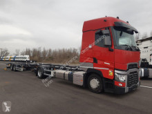 Camion remorque porte containers Renault Gamme T High