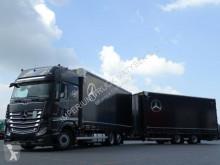 Mercedes ACTROS 2545/JUMBO TRUCK 120 M3/VEHICULAR/GIGA S trailer truck used tautliner