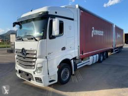Camión remolque lonas deslizantes (PLFD) Iveco Stralis 460 Hi-Way