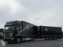 Camión remolque lonas deslizantes (PLFD) Mercedes ACTROS 2543/JUMBO TRUCK 120 M3/VEHICULAR/GIGA S