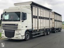 Camión remolque remolque ganadero para ganado bovino DAF XF 510