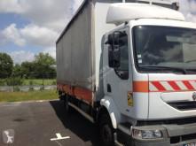 Camión remolque lona corredera (tautliner) caja abierta entoldada Renault Midlum 210