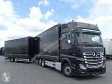 Camión remolque lonas deslizantes (PLFD) Mercedes ACTROS 2545/JUMBO TRUCK 120 M3/VEHICULAR/GIGA S