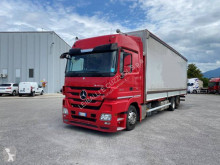 Mercedes Actros 2544 trailer truck used tarp