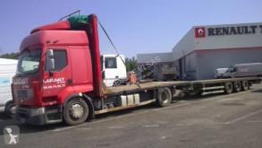 Renault Premium 460.19 Lastzug gebrauchter Pritsche Stroh-/Heutransporter
