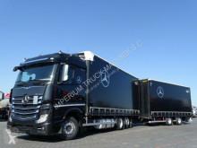 Autotreno Teloni scorrevoli (centinato) Mercedes ACTROS 2543/JUMBO TRUCK 120 M3/VEHICULAR/I-COOL