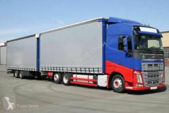 Camion remorque Volvo FH FH 460 6X2 Pritschen-Jumbozug Hubdach rideaux coulissants (plsc) occasion