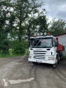 Camion remorque benne bi-benne Scania P 124P420