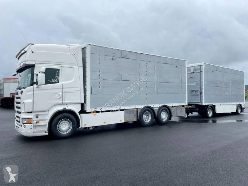 Просмотреть фотографии Автопоезд Scania R 620