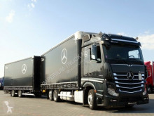 Camion cu remorca obloane laterale suple culisante (plsc) Mercedes ACTROS 2543/JUMBO TRUCK 120 M3/VEHICULAR/I-COOL