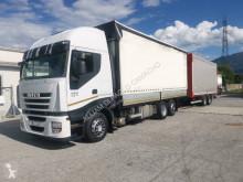 Kamión s prívesom plachtový náves Iveco Stralis