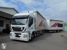 Camion remorque Iveco Stralis 260 S 42 savoyarde système bâchage coulissant occasion