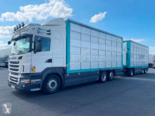 Camion remorque bétaillère Scania R 560