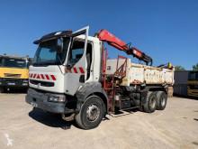 Camion remorque benne bi-benne Renault