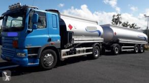 Lastbil med släp DAF CF85 460 tank råolja begagnad