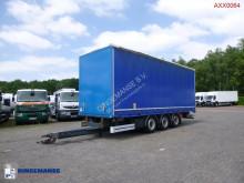 Camion remorque Fruehauf High volume curtain side drawbar trailer