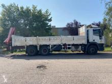 Camion cu remorca Iveco Cursor 260 E 31 platformă second-hand