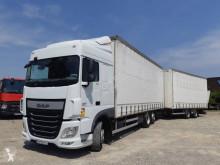 Camion cu remorca DAF XF 440 obloane laterale suple culisante (plsc) second-hand