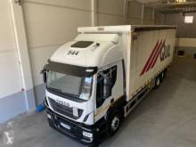 Iveco Stralis 260 S 42 Lastzug gebrauchter Pritsche und Plane
