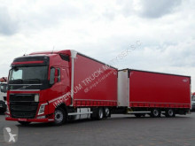 Camion remorque Volvo FH 500 /JUMBO 120 M3/VEHICULAR/EURO 6/7,75M+7,75 rideaux coulissants (plsc) occasion