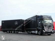 Mercedes Lastzug Schiebeplanen ACTROS 2543/JUMBO TRUCK 120 M3/VEHICULAR/GIGA S