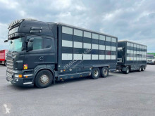 Camión remolque remolque ganadero Scania R 620