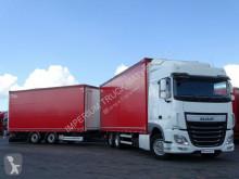 Camion remorque rideaux coulissants (plsc) DAF XF 460 / JUMBO TRUCK / RETARDER /ACC / EURO 6