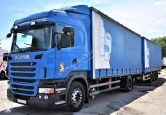 Nyerges vontató és pótkocsi Scania R 440 használt furgon