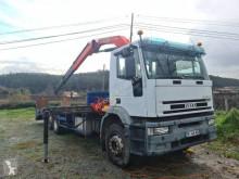 Iveco Eurotech 400E34 Lastzug gebrauchter Maschinentransporter