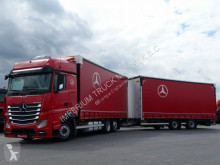 Mercedes tautliner trailer truck ACTROS 2545 / JUMBO TRUCK 120 M3 /VEHICULAR/ACC