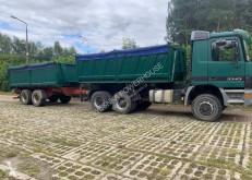 Camion remorque benne Mercedes Actros 3343