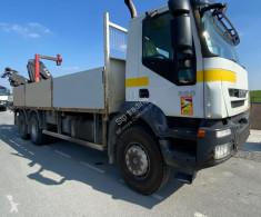 Iveco standard flatbed trailer truck 360