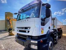 Iveco two-way side tipper trailer truck Trakker 410