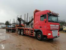 Camión remolque maderero DAF XF460
