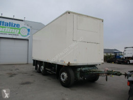 Camion remorque fourgon Chereau isolated box -