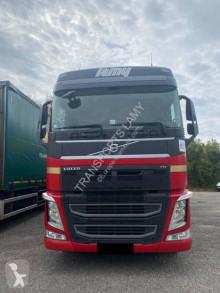 Volvo F12 460 trailer truck used tautliner