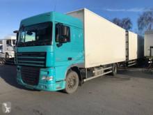 DAF box trailer truck XF105 410