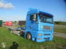 Ciężarówka MAN TGS 18.320 Pritsche, neruer Aufbau,Fernhaus 2 x Bett platforma standardowa używana