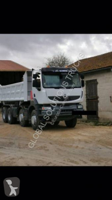 Renault Kerax trailer truck used two-way side tipper