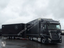 Camion remorque rideaux coulissants (plsc) Mercedes ACTROS 2543/JUMBO TRUCK 120 M3/VEHICULAR/I-COOL