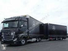 Ciężarówka z przyczepą firanka Mercedes ACTROS 2543/JUMBO TRUCK 120 M3/VEHICULAR/I-COOL